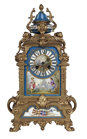 19th century French mantle clock