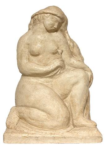 Statuie ipsos Ghicelul Medrea.