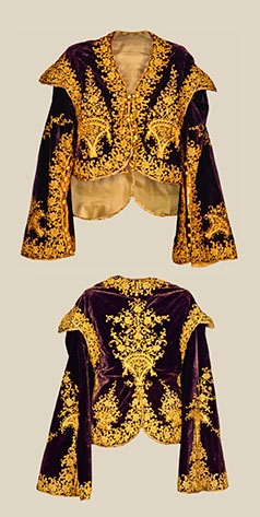 Short jacket 18th century Romania.
