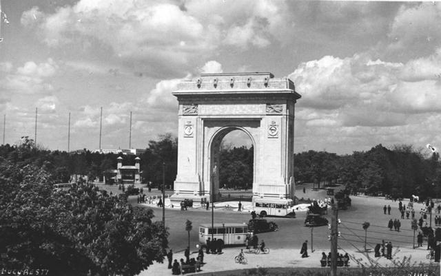 Arcul de Triumf din Bucuresti. Bucharest Arch of Triumph.