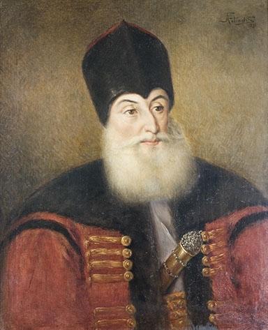 Alexandru Sutu, portrait, Romania.