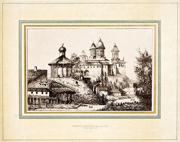 Manastirea Radu Voda si Biserica Bucur din Bucuresti.