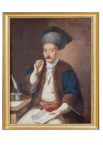 Portret Serdarul Dimitrie Aman portrait noble.