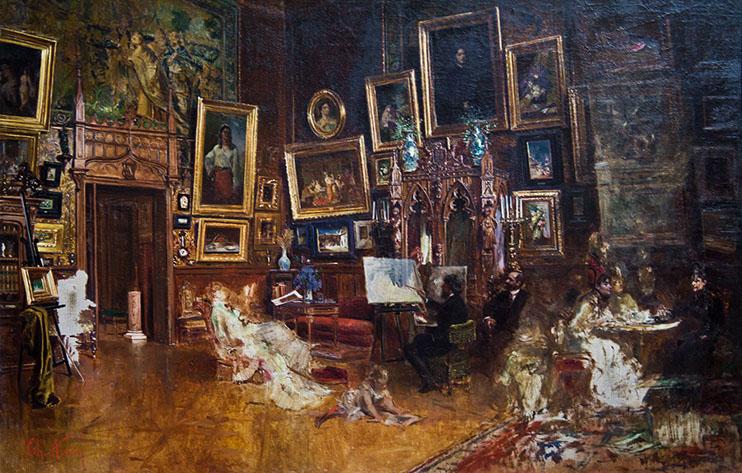 Atelier pictura Aman 1904.