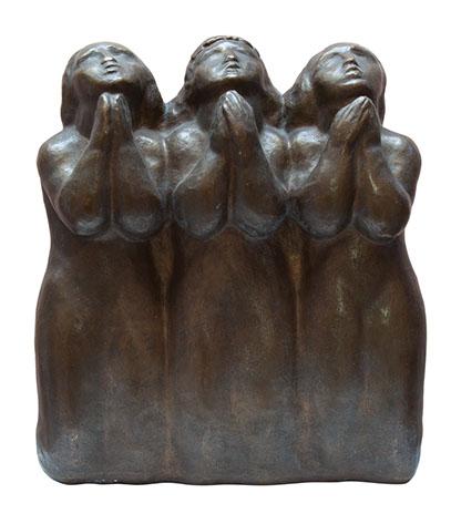 Statuie bronz Medrea Ruga.