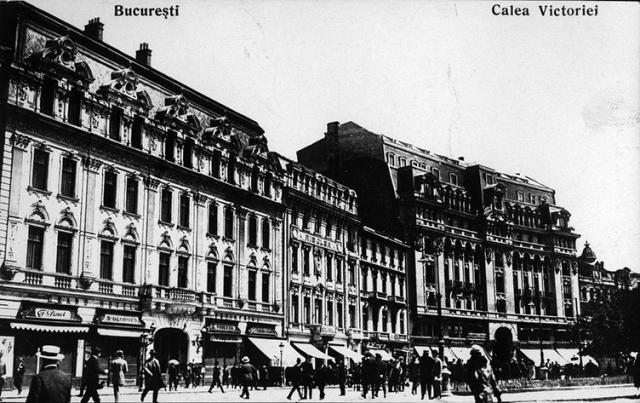 Calea Victoriei Bucuresti. Bucharest.