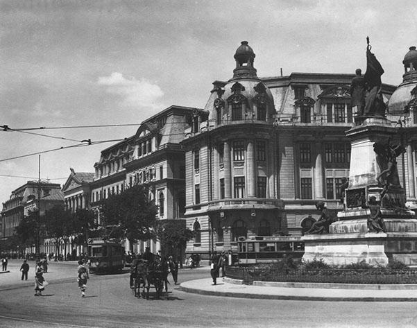 Piata I.C. Bratianu Bucuresti. Bucharest